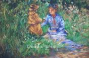 Étude d'une autre époque, reproduction de Berthe Morisot